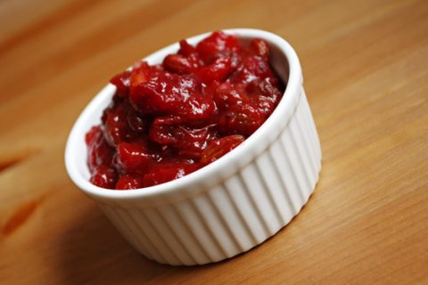 Apple Cranberry Chutney Recipe