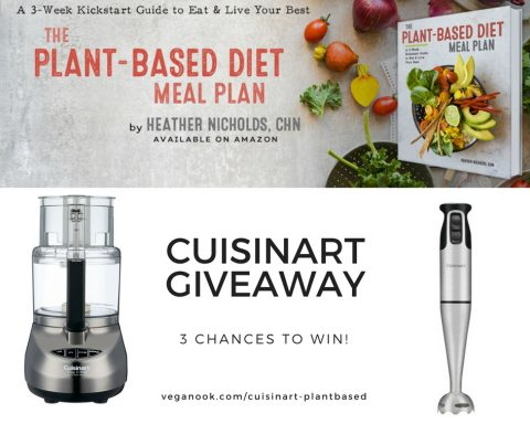Cuisinart Giveaway x Plant-Based Diet Meal Plan Book