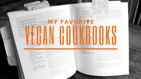My favorite vegan cookbooks