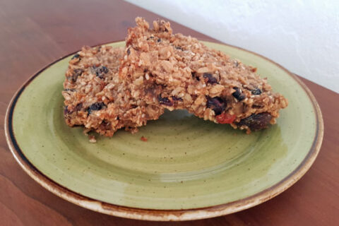 Homemade Chewy Granola Bars - Improv Healthy Vegan Recipe