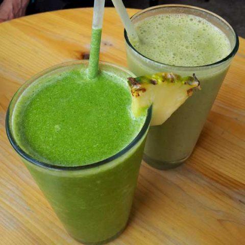 Tropi-Kale Breeze Green Smoothie
